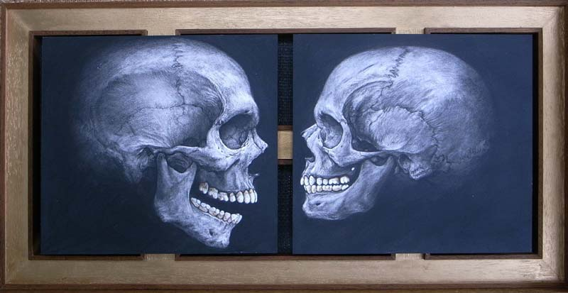 The unknown skull male and female