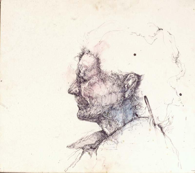 祖母の肖像