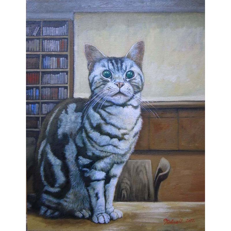 ネコの肖像
