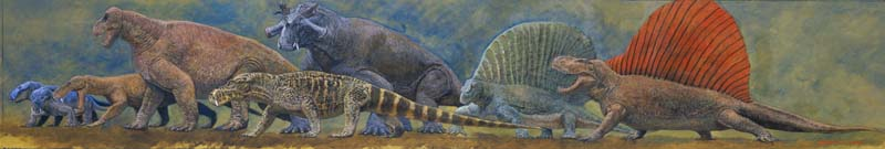 古生代-哺乳類型爬虫類